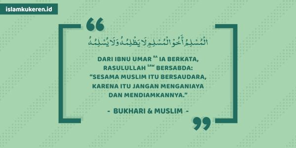 Muslim itu Saudara